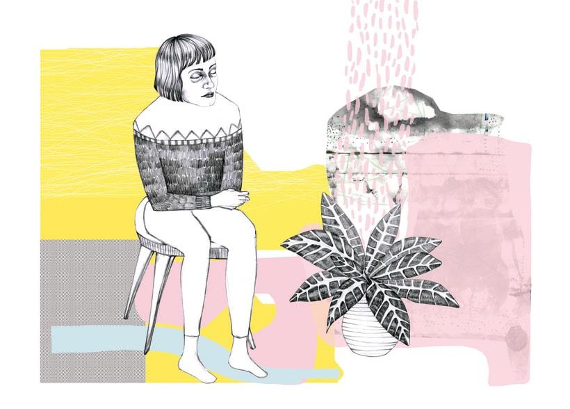 señoras y plantas 0