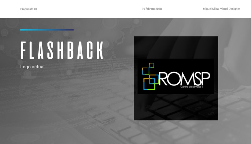 Rediseño de logo ROMSP 1