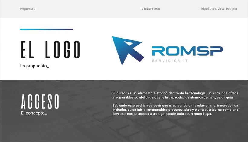Rediseño de logo ROMSP 4