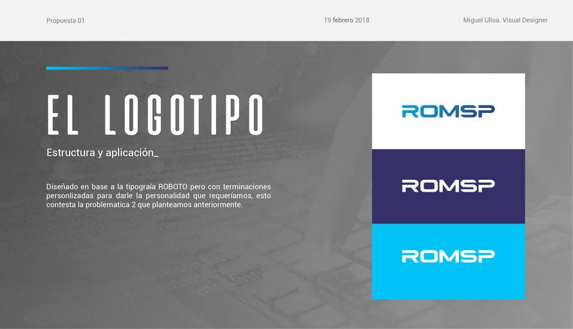 Rediseño de logo ROMSP 6