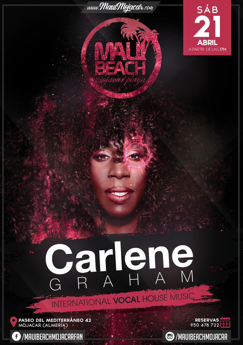 Carlene Grahama @ Maui Beach (Mojácar) -1