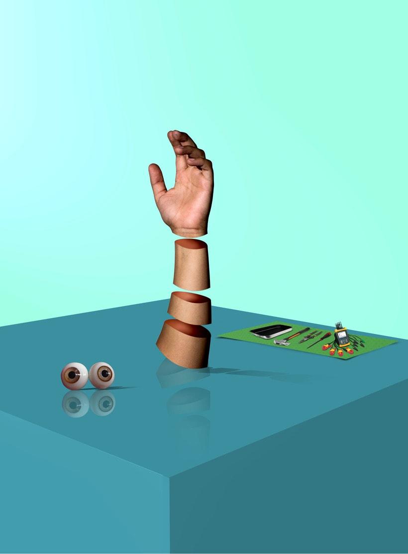 Mi Proyecto del curso: Creación de imágenes Pop Art con objetos cotidianos 0