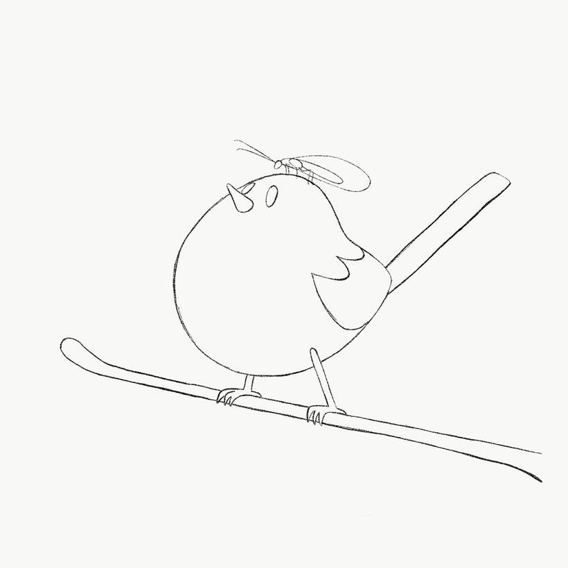 Mi Proyecto del curso: Ilustración digital con lápices de colores 1