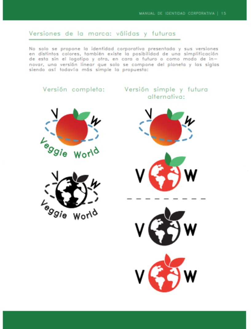 VEGGIE WORLD - Identidad Corporativa 2