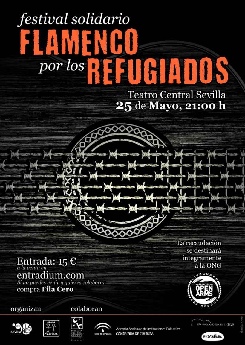 Flamenco por los Refugiados 2