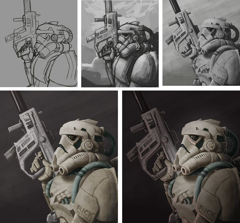 Stormtrooper – Fuck The Force 1
