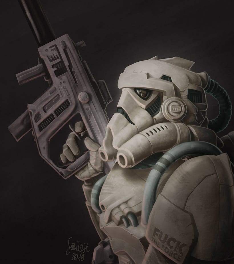 Stormtrooper – Fuck The Force 0