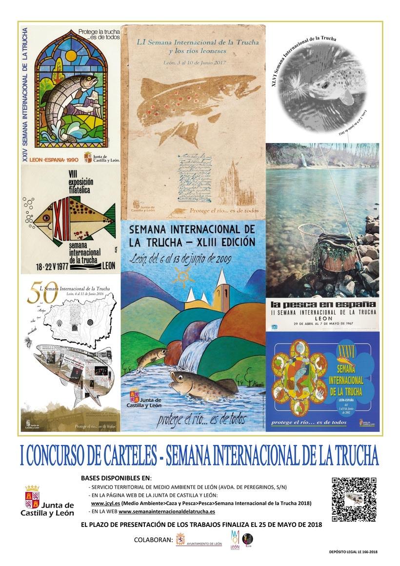 I Concurso de carteles de la Semana Internacional de la Trucha 1