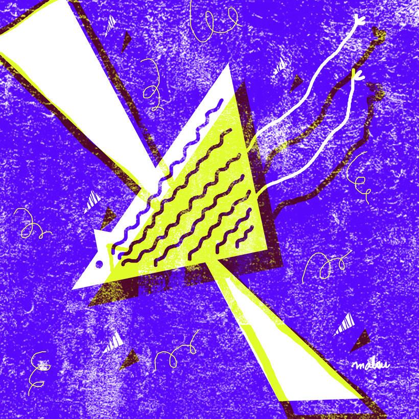"""Inspiración. """"Little wing"""" Jimi Hendrix. Mi Proyecto del curso: Ilustración original de tu puño y tableta 0"""