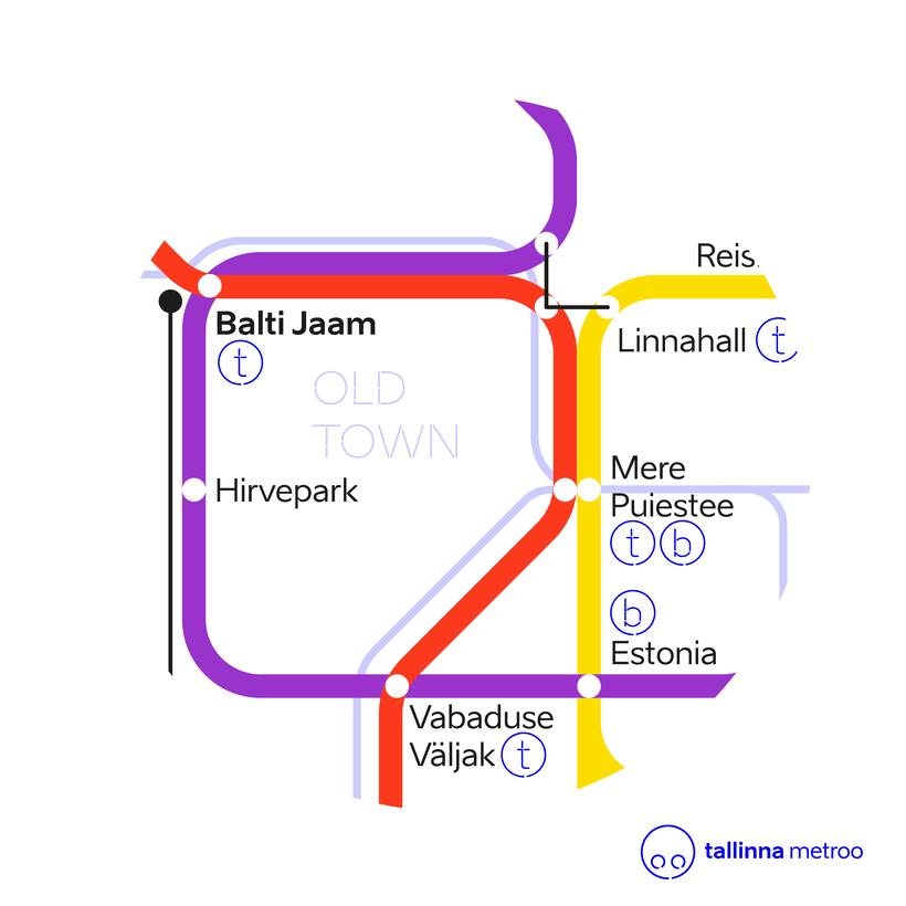 Tallinn Metro Map 5