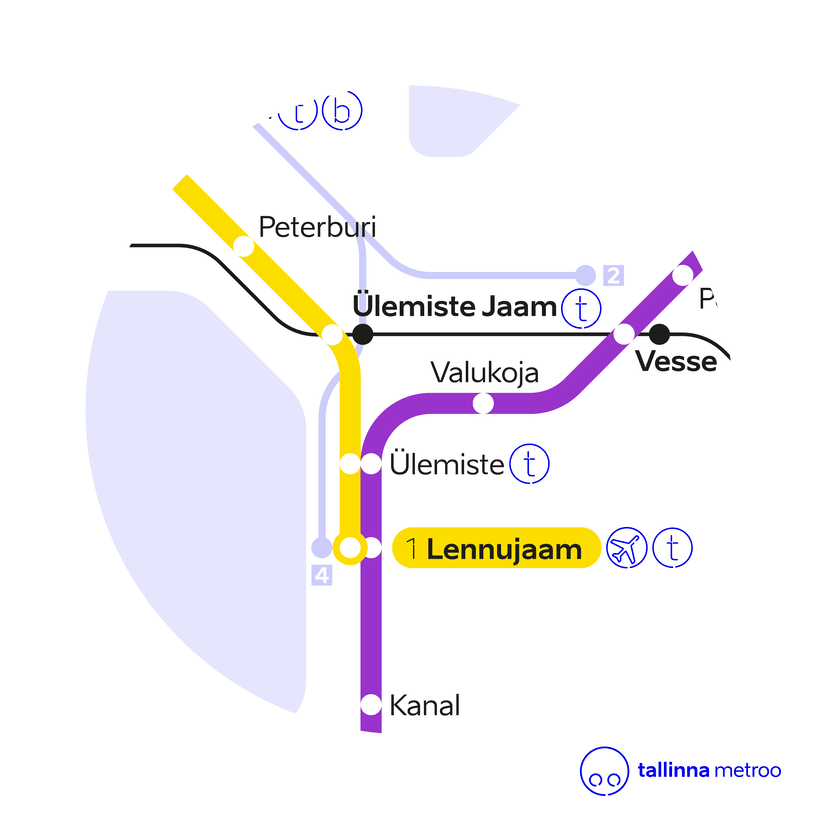 Tallinn Metro Map 6