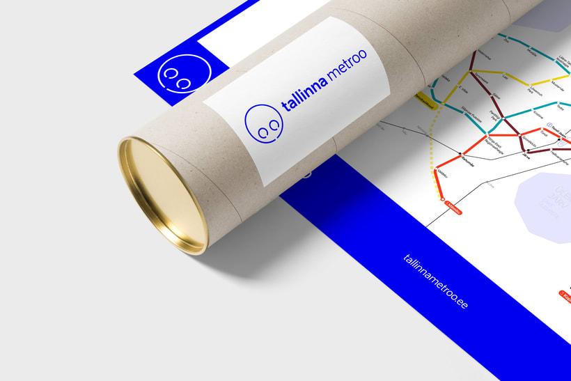 Tallinn Metro Map 7