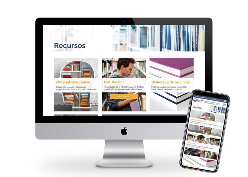 Web Instituto Europeo de Asesoría Fiscal 4