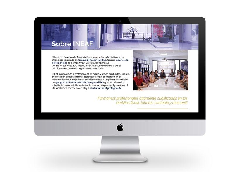 Web Instituto Europeo de Asesoría Fiscal 2