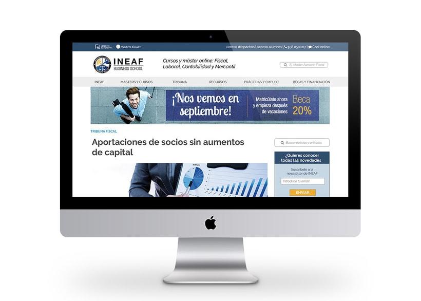 Web Instituto Europeo de Asesoría Fiscal 5