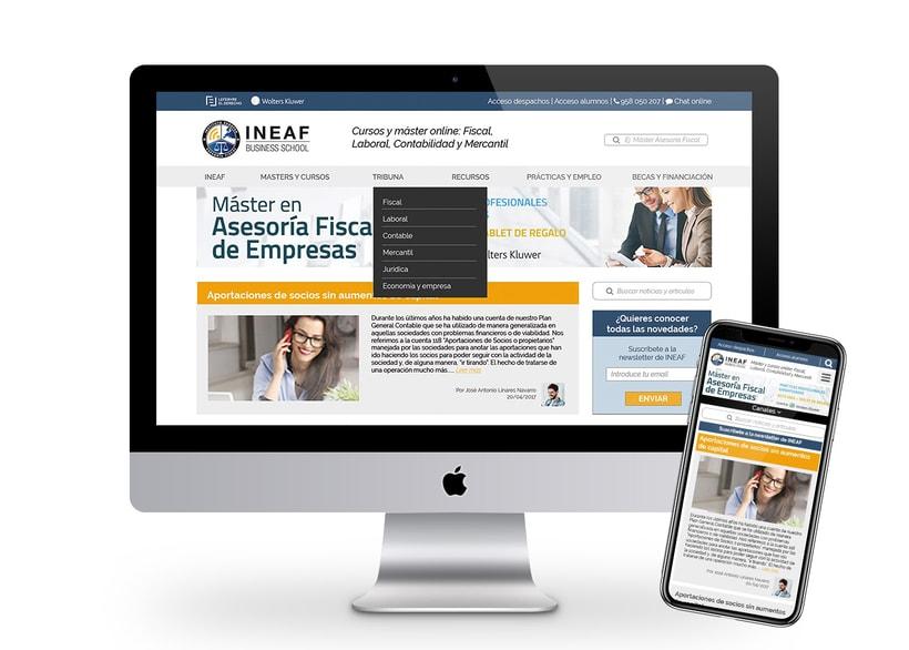 Web Instituto Europeo de Asesoría Fiscal 6