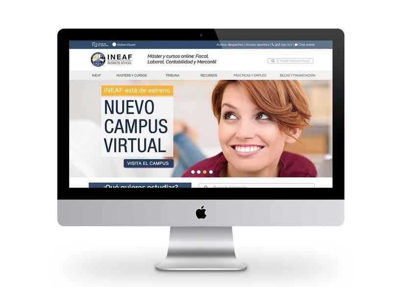 Web Instituto Europeo de Asesoría Fiscal 0