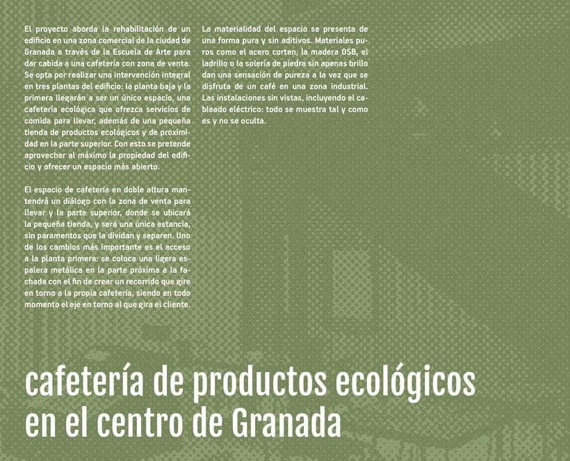 cafetería de productos ecológicos en el centro de Granada -1