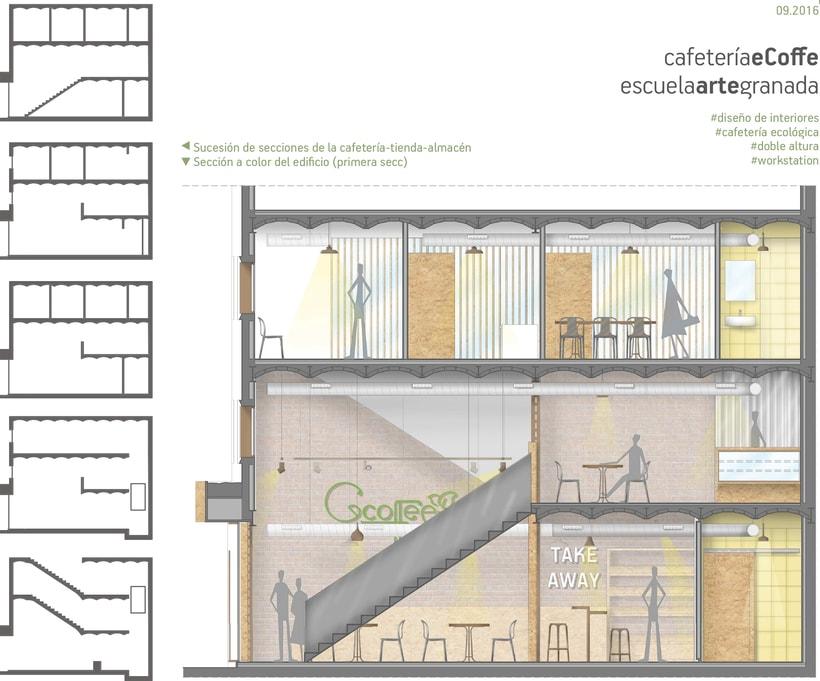 cafetería de productos ecológicos en el centro de Granada 0