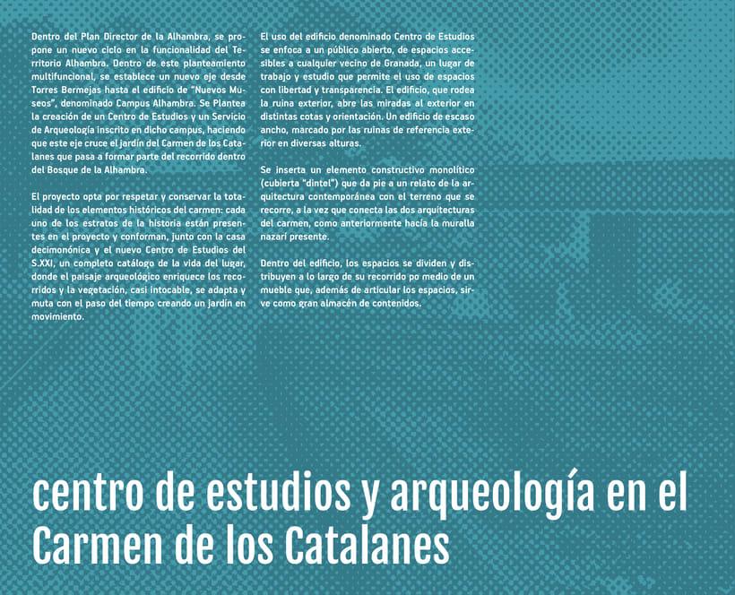 centro de estudios y arqueología en el Carmen de los Catalanes -1