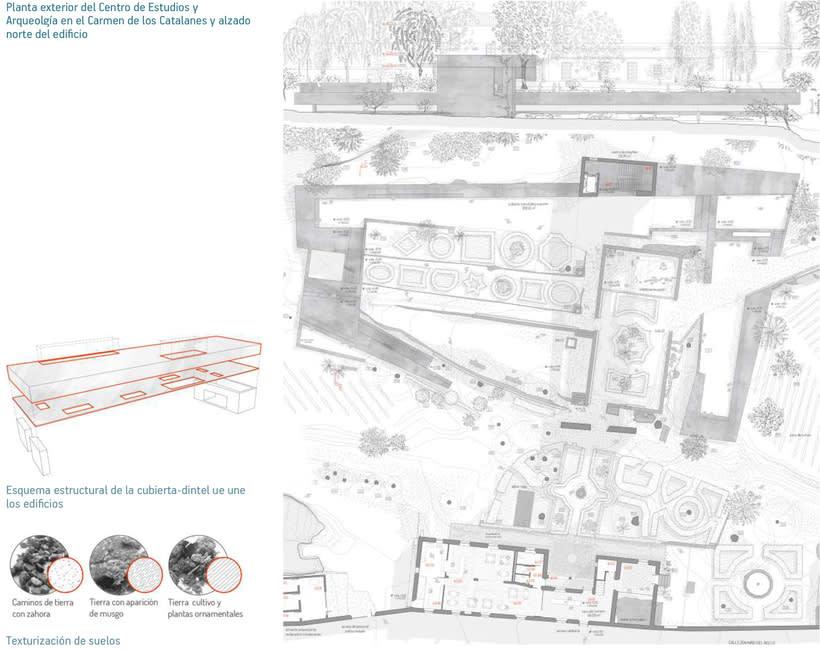 centro de estudios y arqueología en el Carmen de los Catalanes 2