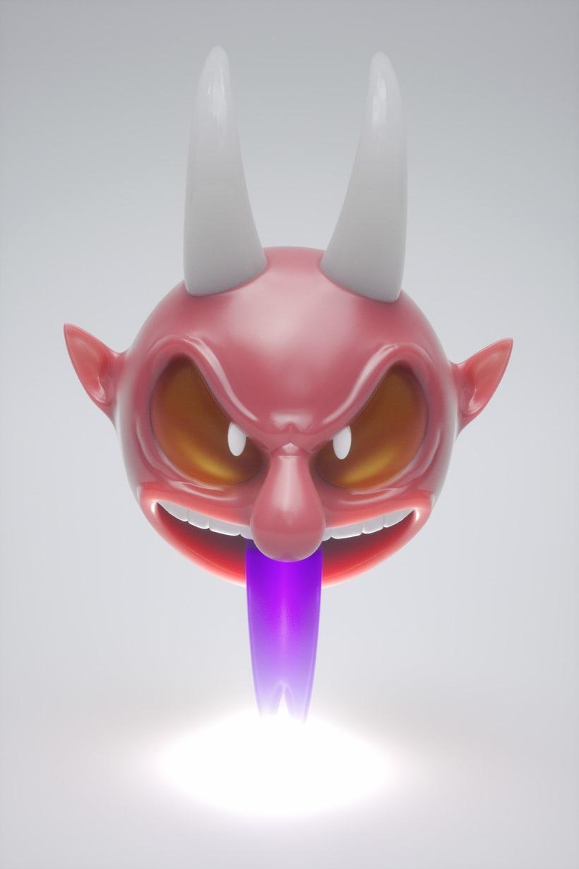 3D Strange characters  5