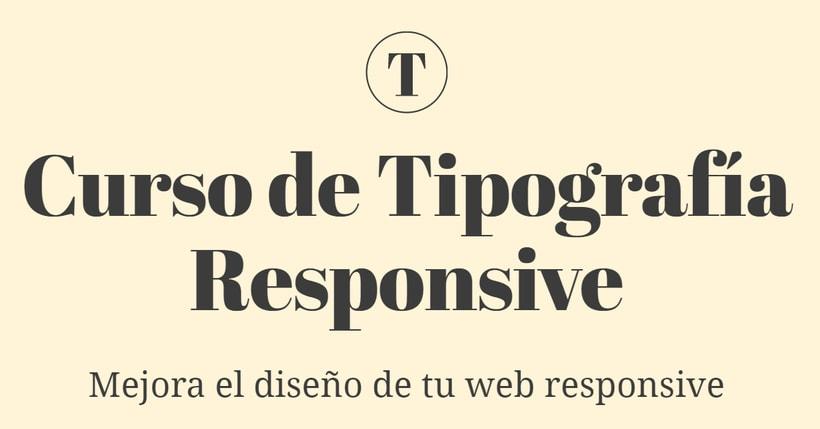 Curso presencial de tipografía responsive 1