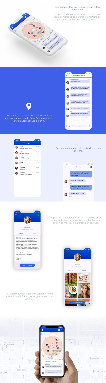 Aplicación de chat para Iphone X -1