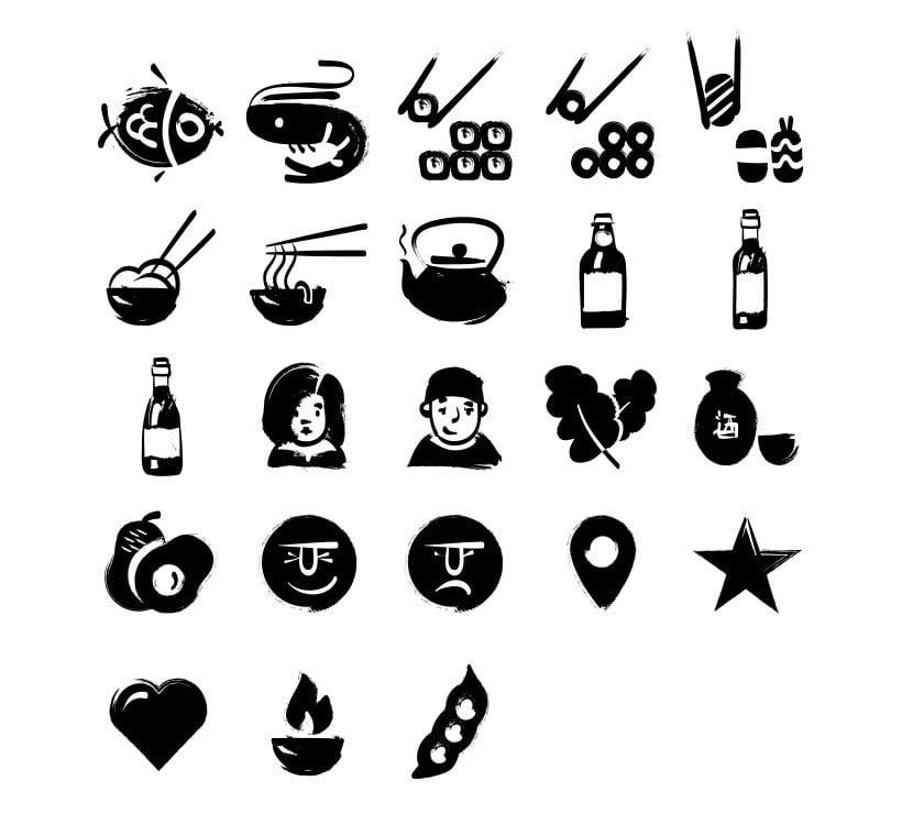 Sumie Icon Set 0