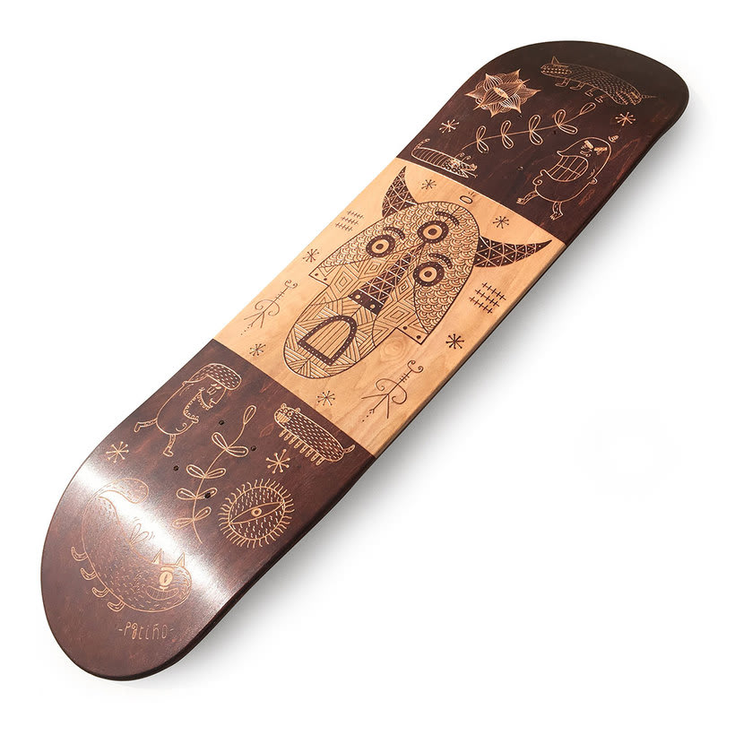 Le Shape Skateboard 1
