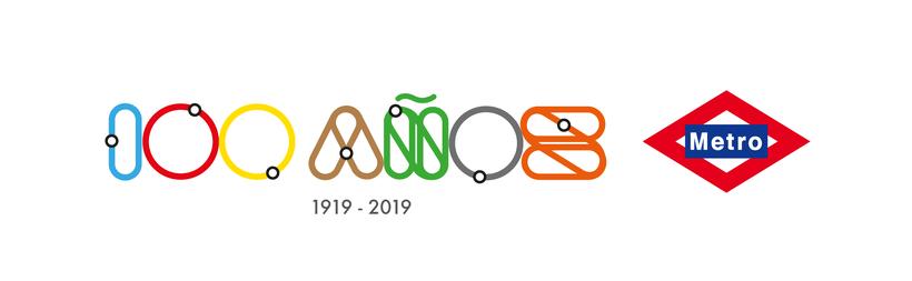 Propuesta para el concurso del centenario de Metro Madrid 0