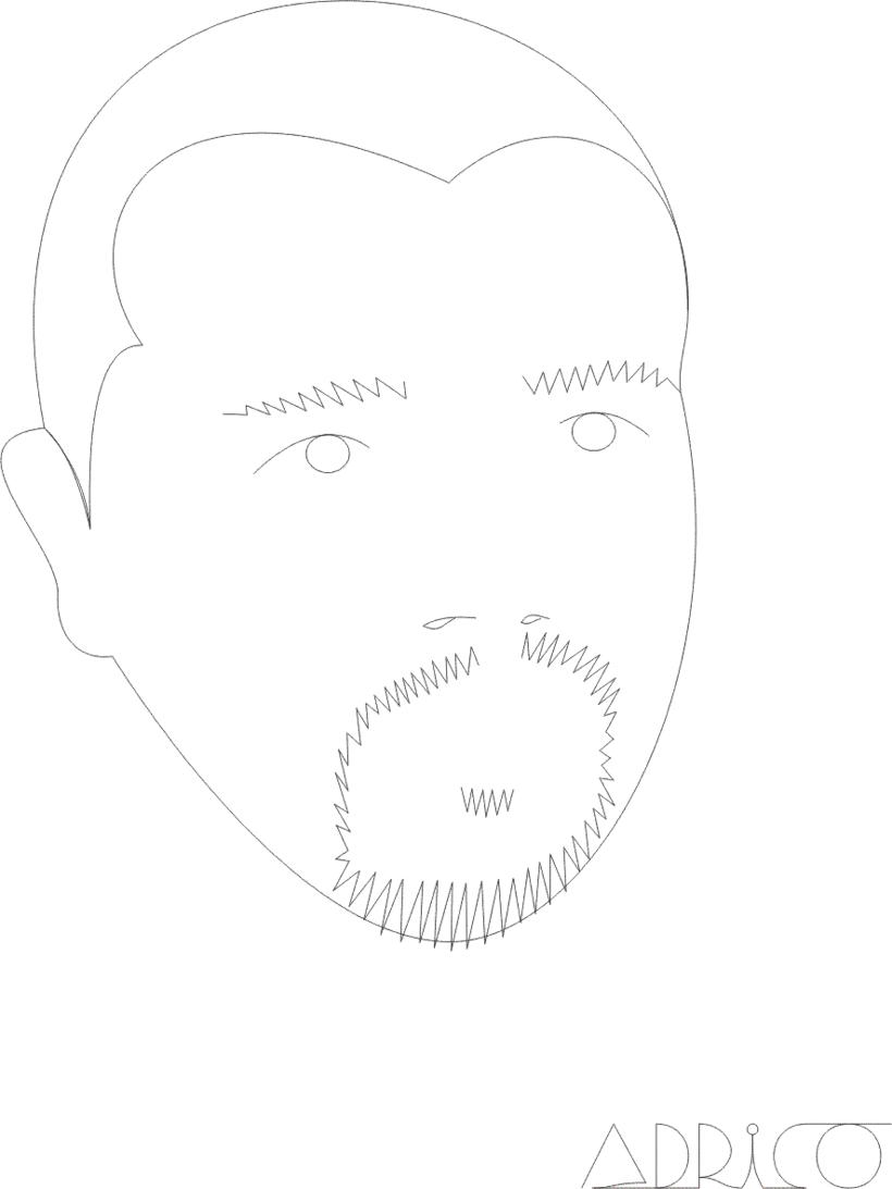 Dibujos de rostros -1
