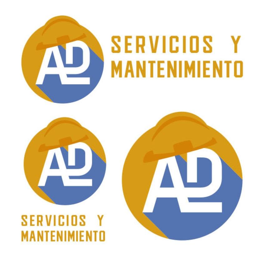 Propuesta Flat Logo ADL (monograma) 1