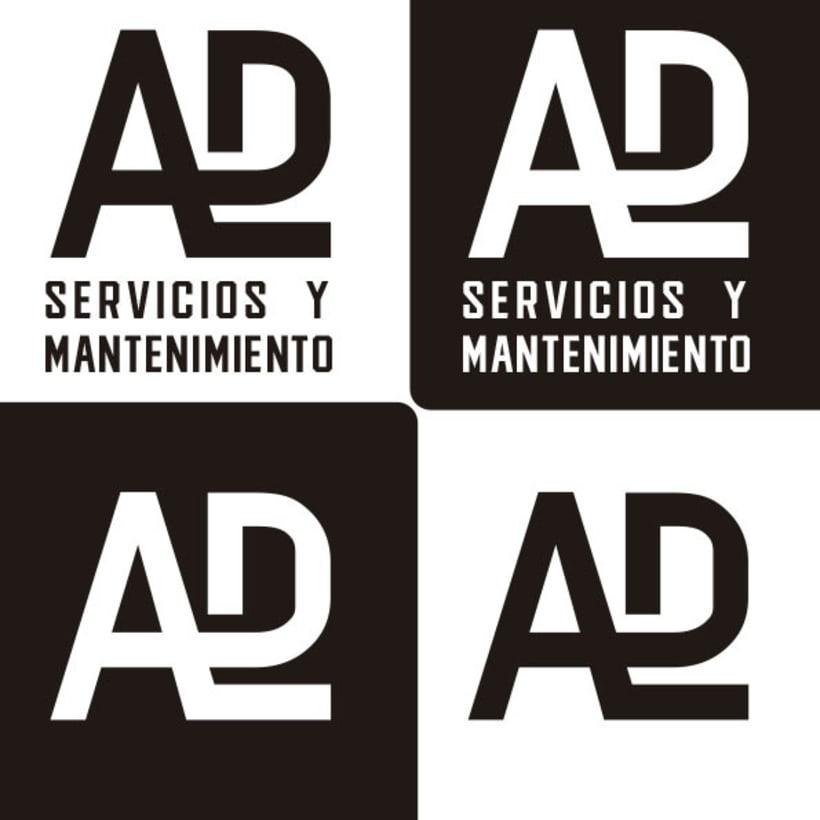 Propuesta Flat Logo ADL (monograma) 2