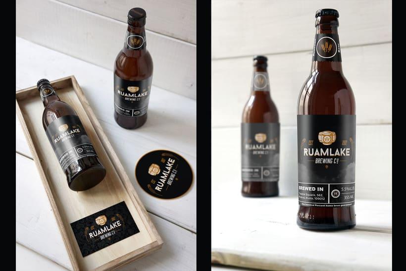 Mi Proyecto del curso: Branding y Packaging para una Cerveza Artesanal 4