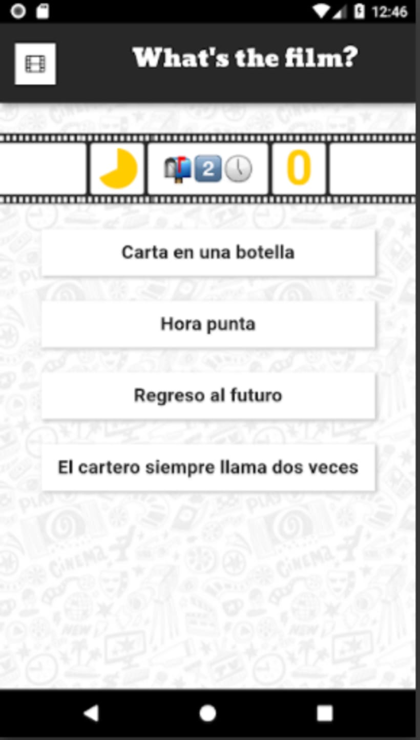 App juego - What's The Film? 1