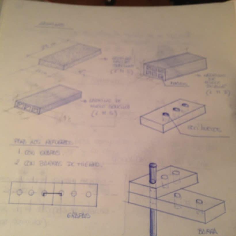Dibujos apuntes de materiales de Construcción -1