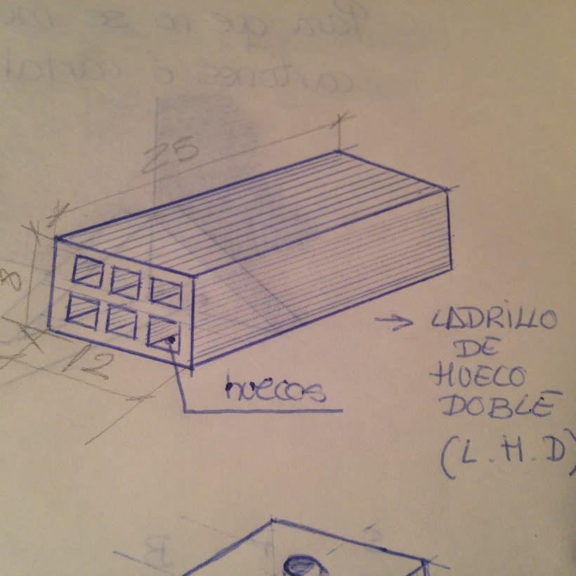 Dibujos apuntes de materiales de Construcción 2
