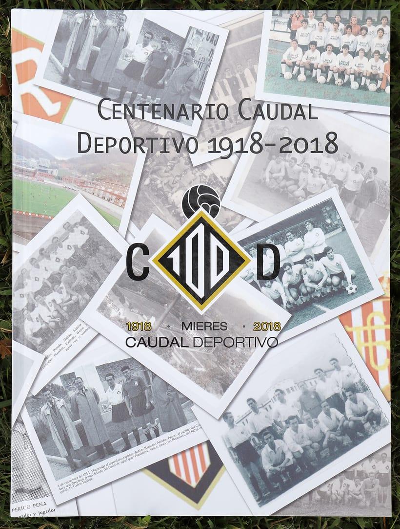 Libro Centenario Caudal Deportivo Mieres 0
