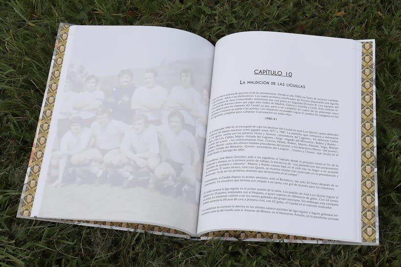 Libro Centenario Caudal Deportivo Mieres 1