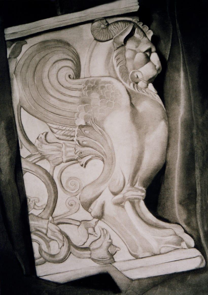 Dibujos de Esculturas 4