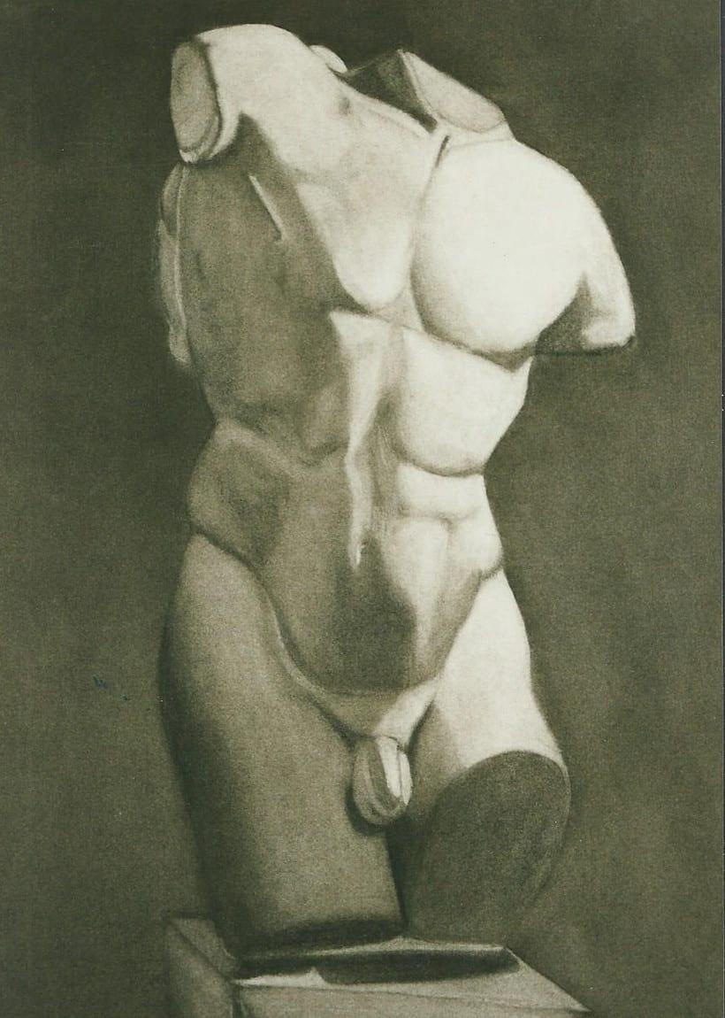 Dibujos de Esculturas 5