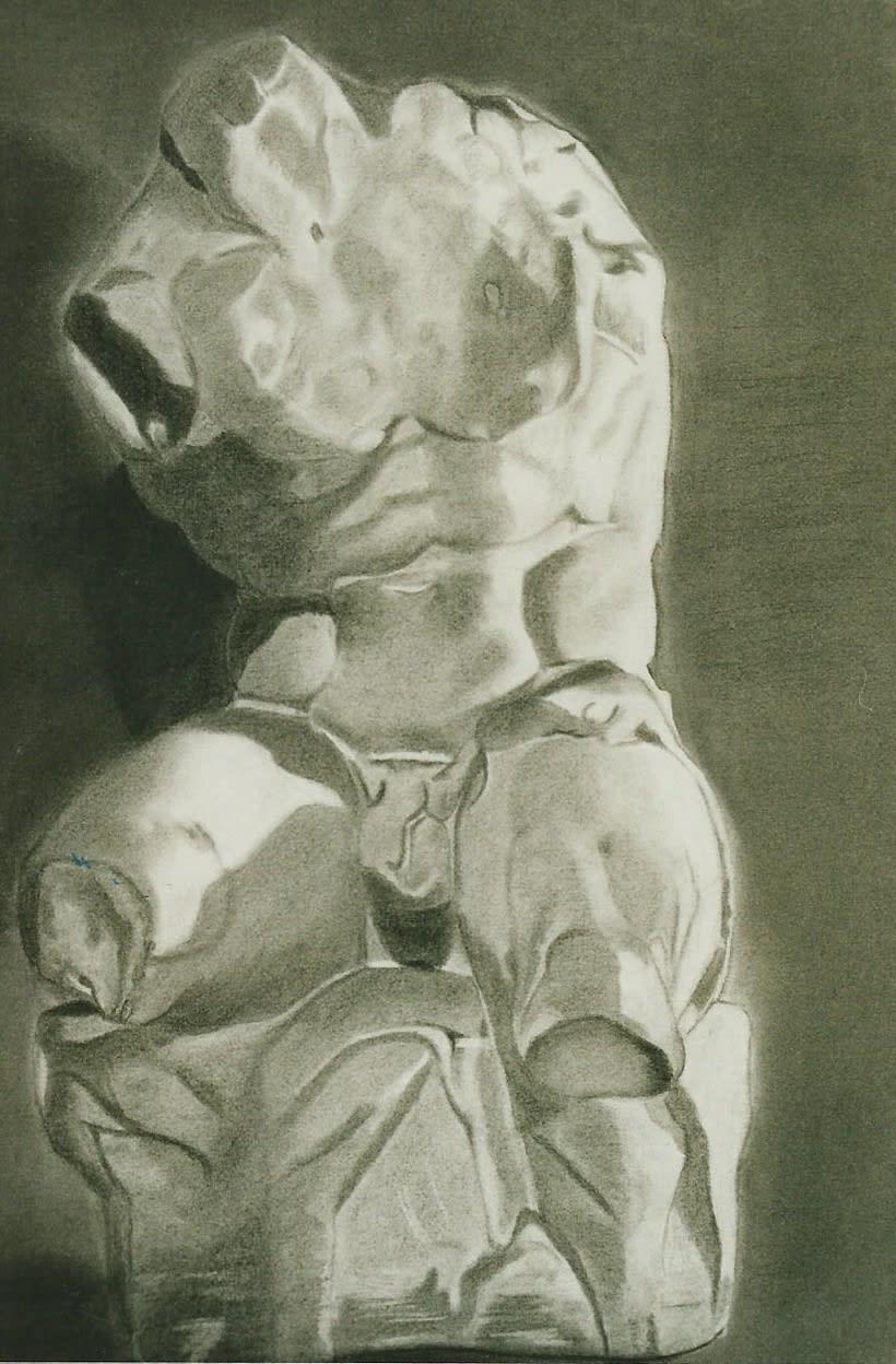 Dibujos de Esculturas 6