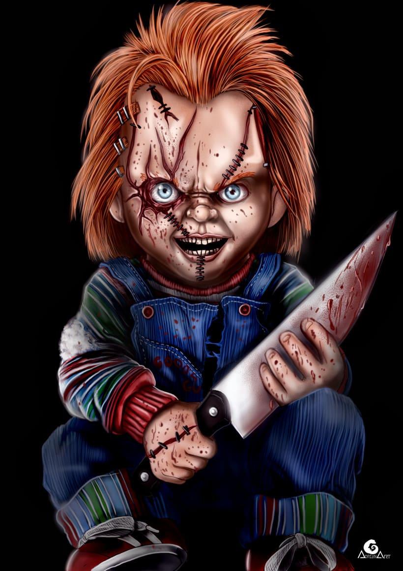 Chucky + Speedpaint 0