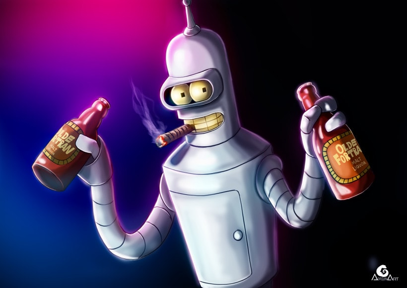 Bender, FUTURAMA + Speedpaint 0