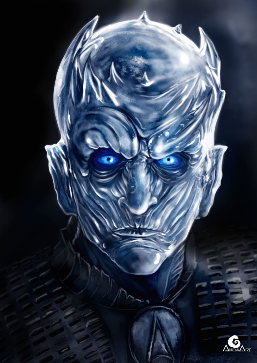 Night King (Game of Thrones) + SpeedPaint  0