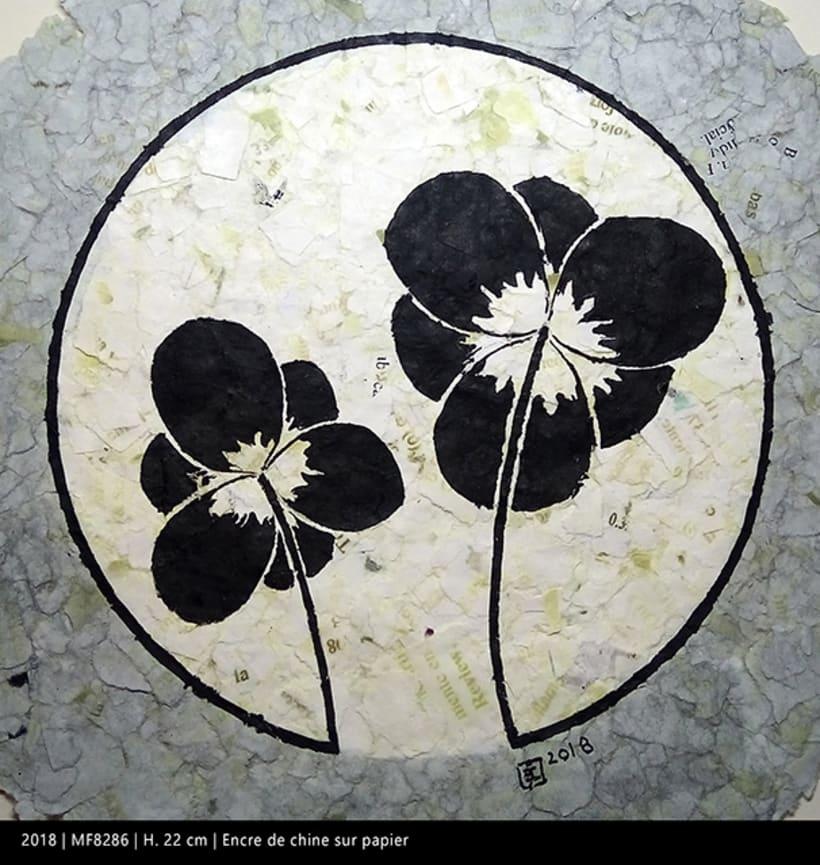 Miniatures florales F 3