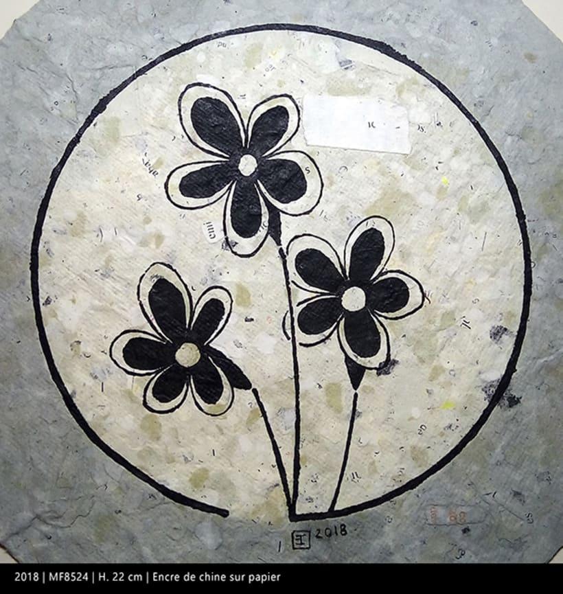 Miniatures florales F 6