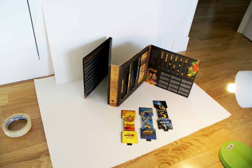 Sea Bronze.  Packaging 13