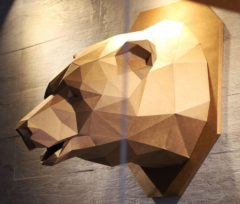 Urso de Papel 2